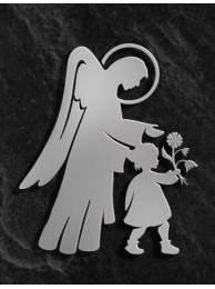 Anioł z dzieckiem