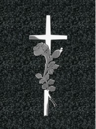 Krzyż z różą 141
