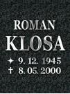 Litery nierdzewne Romano 3mm