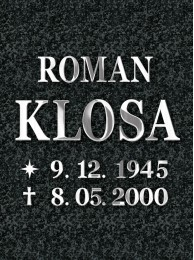 Inox Letters Romano 3mm