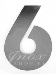 Numer na dom 6 (20 cm)