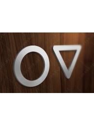 Zestaw Symboli Toalety 4 10cm