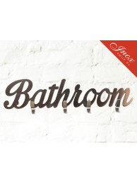 Wieszak ze stali nierdzewnej Bathroom
