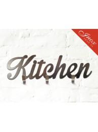 Wieszak ze stali nierdzewnej Kitchen